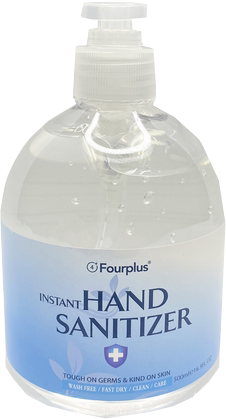 Hand Sanitizer with Alcohol - 16.9oz